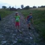 Gyerekek a római légió útján