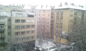 Március vége, esik a hó