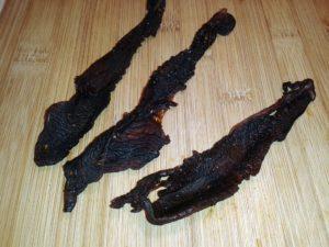 Pácolt, szárított pulykahús